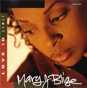 Love No Limit - Image: Mary J. Blige Love No Limit (1993)