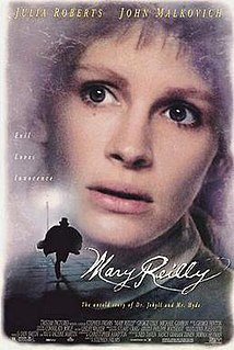 <i>Mary Reilly</i> (film) 1996 American film directed by Stephen Frears