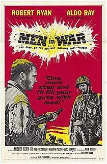 <i>Men in War</i> 1957 film by Anthony Mann