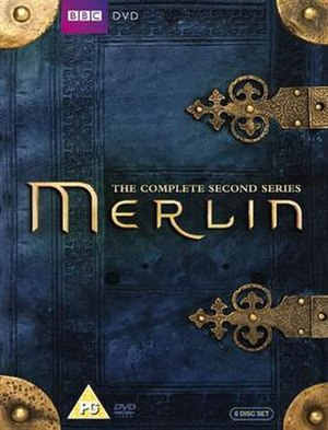 Merlin (series 2) - Complete DVD set box art