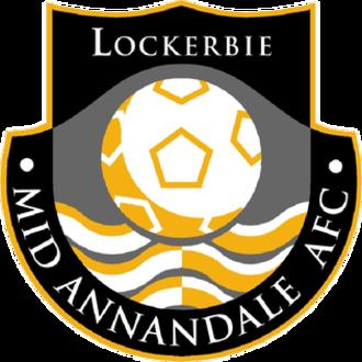 Mid-Annandale F.C. - Image: Midannandalefc