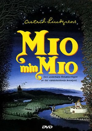 Mio in the Land of Faraway - Swedish DVD cover featuring 1987 promotional artwork.