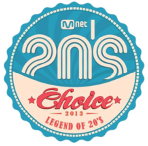 Mnet 20's Choice Awards - Official logo of the 2013 edition