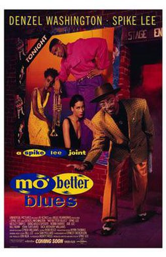 Mo' Better Blues - Theatrical release poster