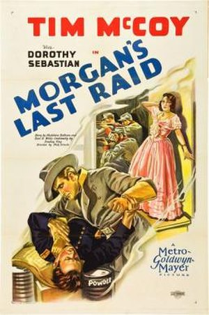 Morgan's Last Raid - Theatrical release poster