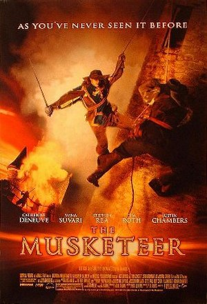The Musketeer - theatrical poster