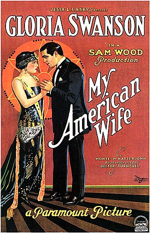 My American Wife - Film poster