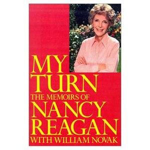 My Turn (memoir) - Image: My Turn cover Nancy Reagan