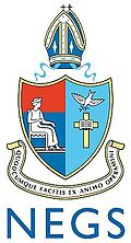 New England Girls' School crest. Source: www.negs.nsw.edu.au (NEGS website)