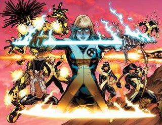 <i>New Mutants</i> Marvel Comic series