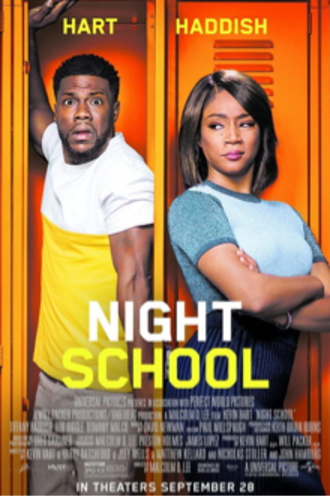 Night School (2018 film) - Theatrical release poster