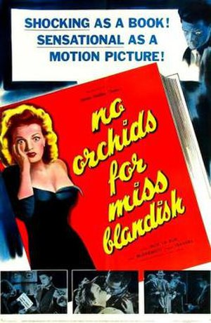 No Orchids for Miss Blandish (film) - Theatrical release poster