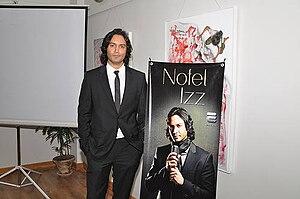Nofel Izz - Nofel at his album launch in Karachi, Pakistan