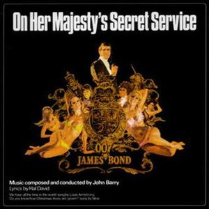 On Her Majesty's Secret Service (soundtrack) - Image: On Her Majesty's Secret Service OST