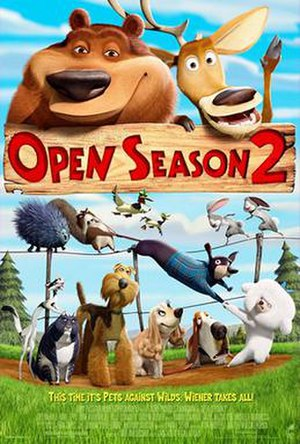 Open Season 2 - DVD Cover