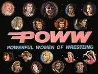 Powerful Women of Wrestling logo
