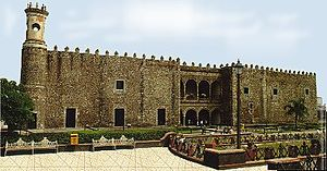 Marquisate of the Valley of Oaxaca - Palace of Cortés, Cuernavaca. Main seat of government of the Marquisate of the Valley of Oaxaca, and residence of the 1st, 2nd and 4th Marquises.