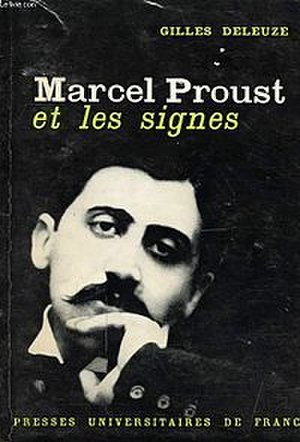 Proust and Signs - Cover of the first edition