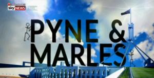 Pyne & Marles - Image: Pyne and Marles title card