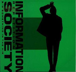 Repetition (Information Society song) - Image: REP Cover