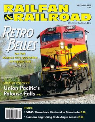 Railfan & Railroad - Image: Railfan & Railroad magazine cover November 2015