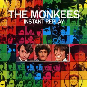 Instant Replay (The Monkees album) - Image: Rhino instant replay