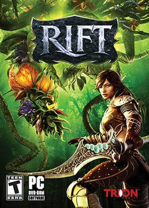 Rift (video game) - Standard edition cover art