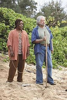 "Rose and Bernard Nadler Characters from the TV series ""Lost"""