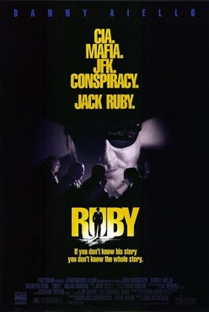 Ruby (1992 film) - Theatrical release poster