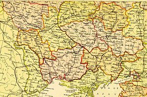 Southwestern Krai - All five Guberniyas that comprised the Kiev General Governorate as of 1882