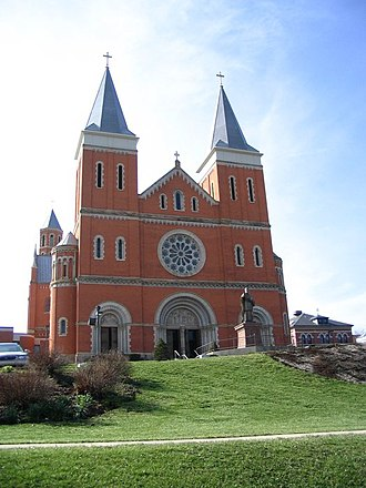 Saint Vincent College - Saint Vincent College Basilica