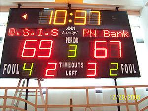 Scoreboard-GSIS