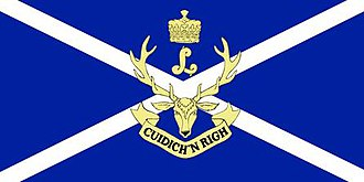 The Seaforth Highlanders of Canada - The camp flag of The Seaforth Highlanders of Canada.
