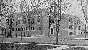 Tecumseh High School (Michigan) - Tecumseh High School 1919-1949.