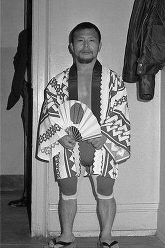 Little Tokyo (wrestler) - Image: Shigeri Akabane