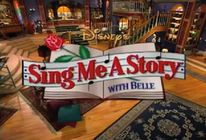 Sing Me a Story with Belle - Image: Sing Me A Story With Belle