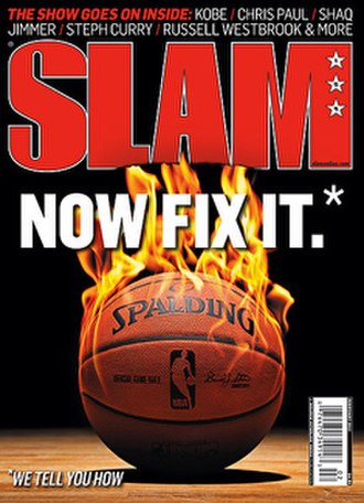 Slam (magazine) - The only cover without a player (February 2012 issue)