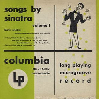 Songs by Sinatra - Image: Songsbysinatra