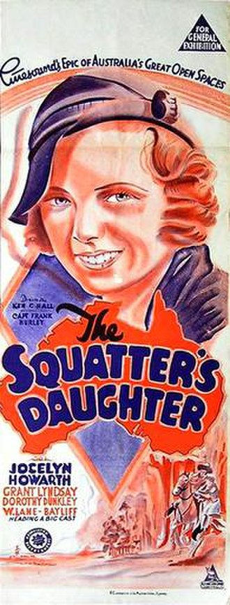 The Squatter's Daughter (1933 film) - Image: Squatters Daughter poster