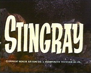 Stingray (1964 TV series) - Image: Stingray title