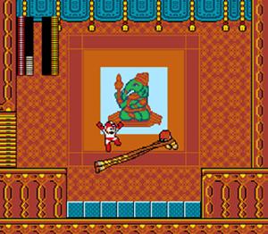 Street Fighter X Mega Man - Mega Man battling Dhalsim