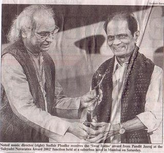 Sudhir Phadke Musical artist