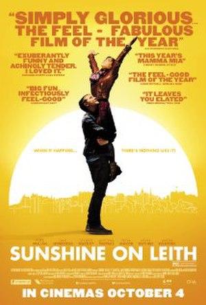 Sunshine on Leith (film) - Film poster
