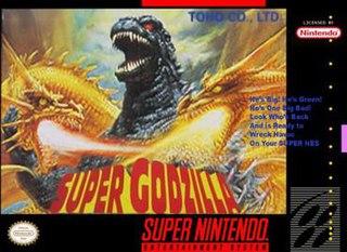 <i>Super Godzilla</i> 1993 video game