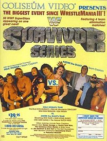Image result for WWF Survivor Series 1987
