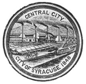 Syracuse City Seal, 1848