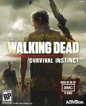The Walking Dead: Survival Instinct - Image: TWD SI cover