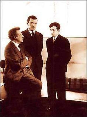 Nikolai Erdman - Meyerhold, Mayakovsky, and Erdman.