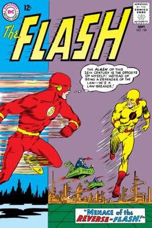 Eobard Thawne - Image: The Flash (vol. 1) 139