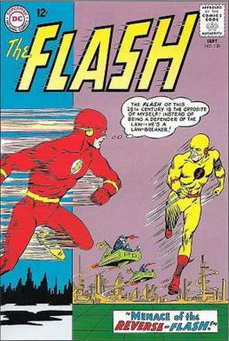 Eobard Thawne - Image: The Flash (vol. 1) 139